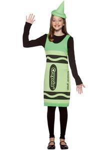 Green Crayola Pencil Teens Costume