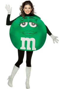 Green M&M'S Teen Poncho