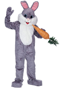 Grey Rabbit Costume