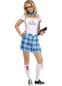 I Love Nerds Teen Costume