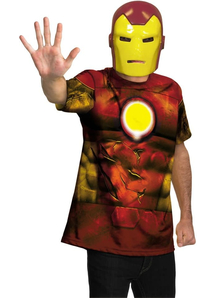 Iron Man Adult Plus Size Kit