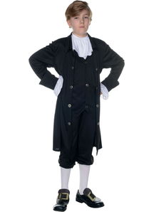 John Adams Child Costume