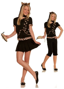 Leopard Cat Teen Costume