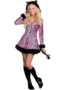 Leopard Kitty Teen Costume