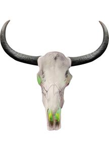 Light Up 24 inches Longhorn Skull