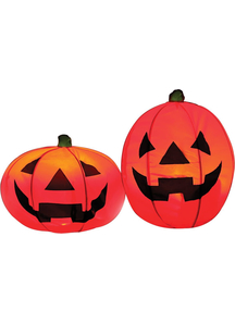 Lighted Pumpkin Set