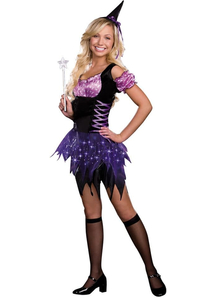 Lighting Witch Teen Costume