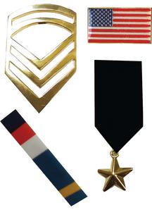 Military Pin Set