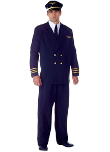Mr Pilot Adult Costume