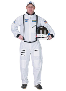 Nasa Astonaut Adult Costume White