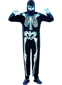 Night Skeleton Adult Costume