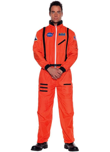 Orange Astonaut Teen Costume