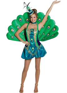 Peacock Adult Costume
