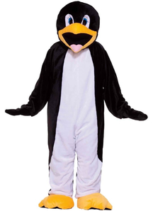 Penguin Mascot Teen Costume