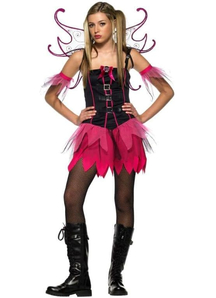 Pink Fairy Teen Costume