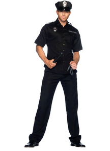 Police Halloween Adult Costume