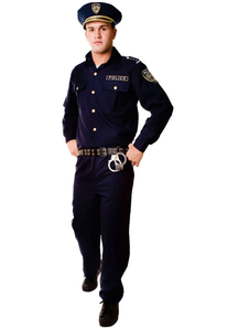 Police Officer Costume Adult