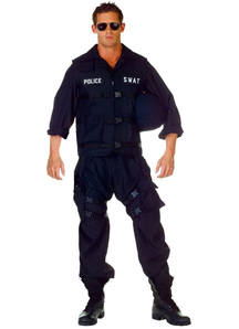 Police Swat Costume Adult