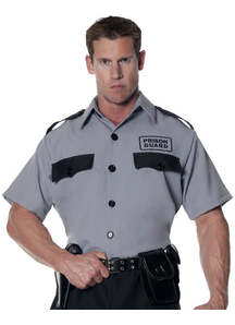 Prison Guard Adult Shirt