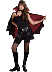 Punk Vampire Teen Costume