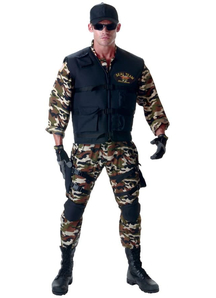 Seal Soldier Adult Costume
