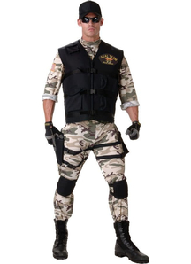 Seal Team Teen Costume