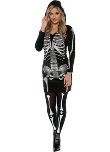 Skeleton Halloween Adult Costume - 22038