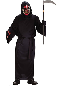 Skull Face Adult Costume