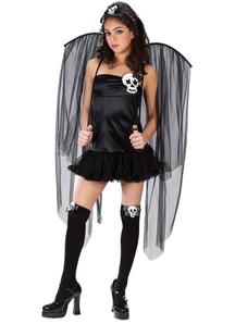 Skull Fairy Teen Costume