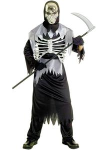 Skull Halloween Adult Costume