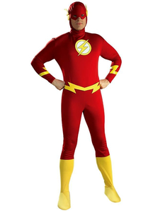 Superhero Flash Adult Costume