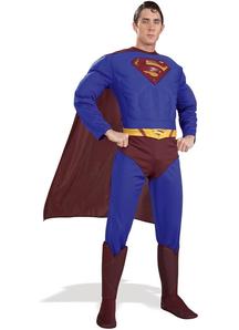 Superman Costume For Men