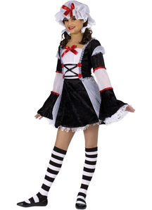 Sweet Rag Doll Teen Costume