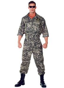 Usa Army Soldier Adult Costume