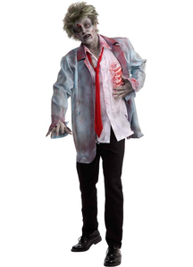 Zombie Man Adult Set