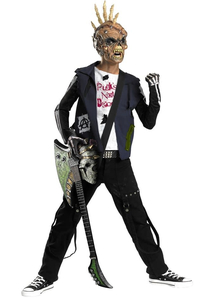 Zombie Punk Child Costume