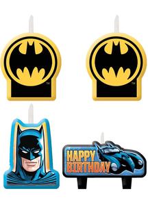 Batman Candle Set