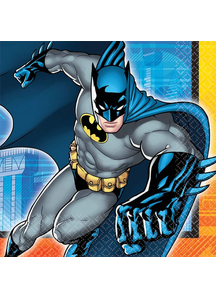 Batman Lunch Napkins 16 Pack