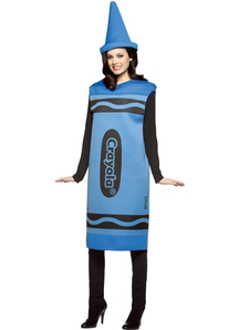 Blue Pencil Crayola Adult Costume