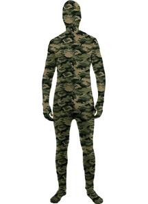 Camo Skin Suit For Adults