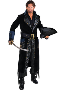 Captain Blackbeard Adult Costume