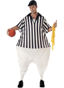 Comical Referee Adult Costume