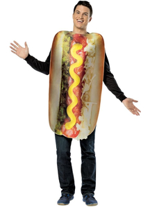Delicious Hot Dog Adult Costume