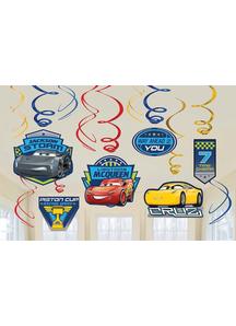 Disney Cars 3 Foil Dcor