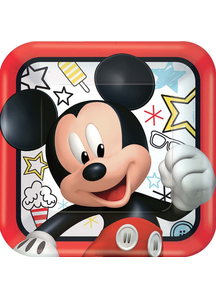 Disney Mickey Sq Plate 9