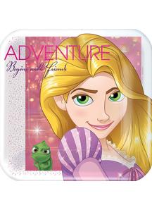 Disney Rapunzel Sq Plates