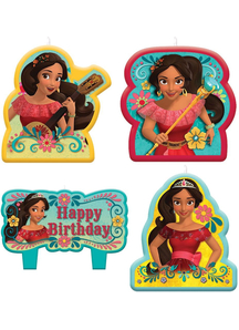 Elena Of Avalor Birthday Candl