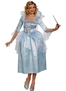 Cinderella Fairy Godmother Costume Plus Size