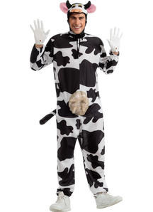 Funny Cow Adult Costume