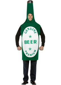 Genuine Beer Bottle Adult Costume